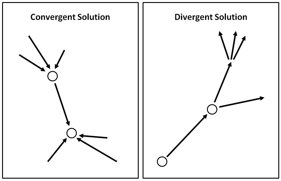 relationship between convergent and divergent evolution