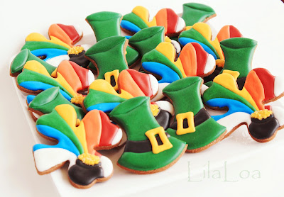 St. Patrick's Day cookies -- cookie decorating tutorial