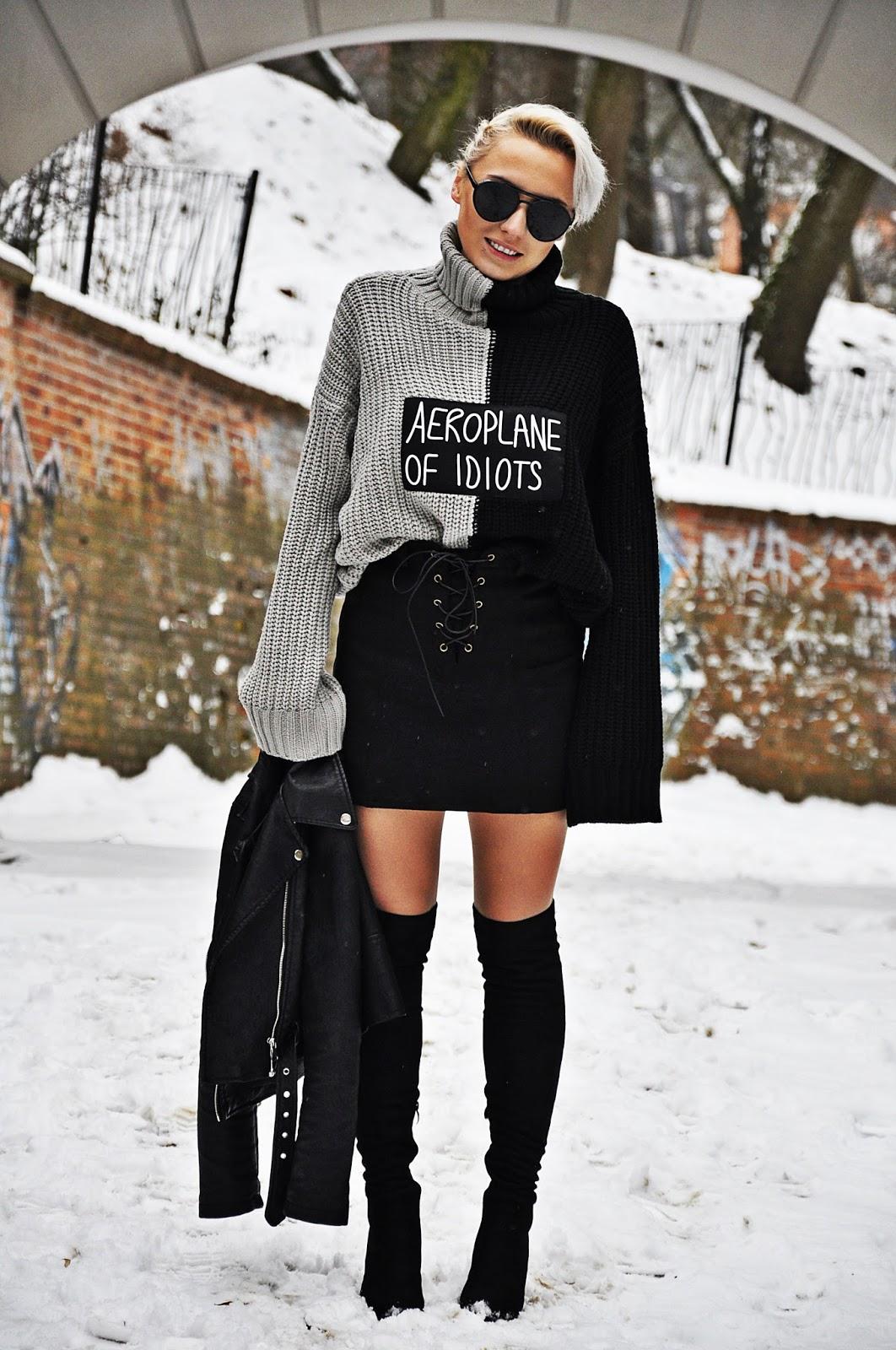 czarna_ramoneska_karyn_spodnica_botki_look_190117