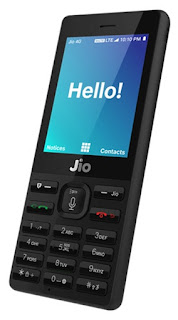 Jio free 4G feature Phone