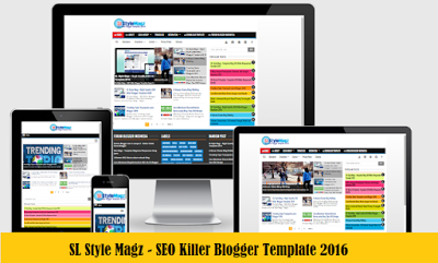 Update Terbaru Template SEO Friendly - SL Style Magz