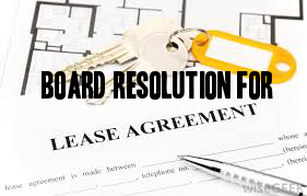 Board-Resolution-lease-agreement