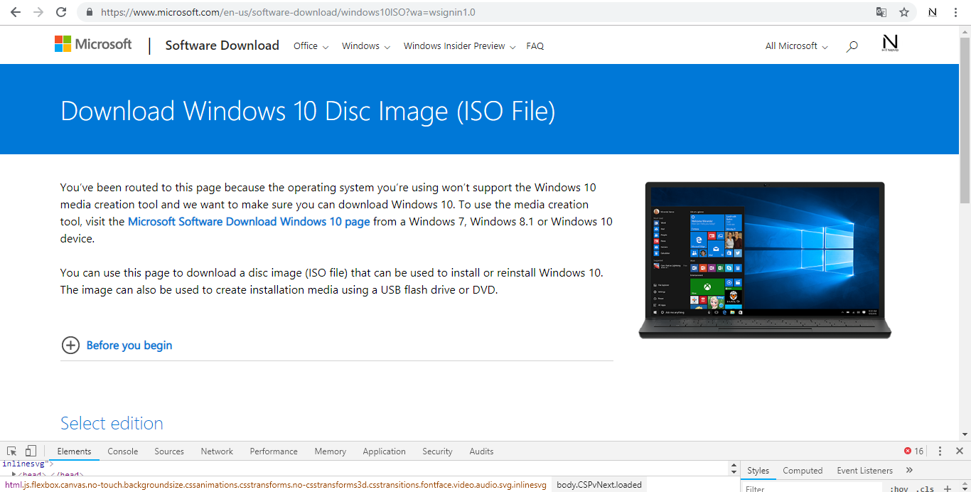 Download-windows-10-disc-image-iso-file