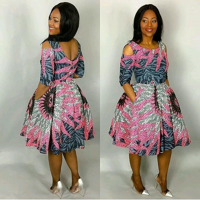 Ankara Long and short gowns Style