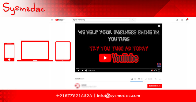 Take your Business reach million of people on YouTube service @Sysmedac