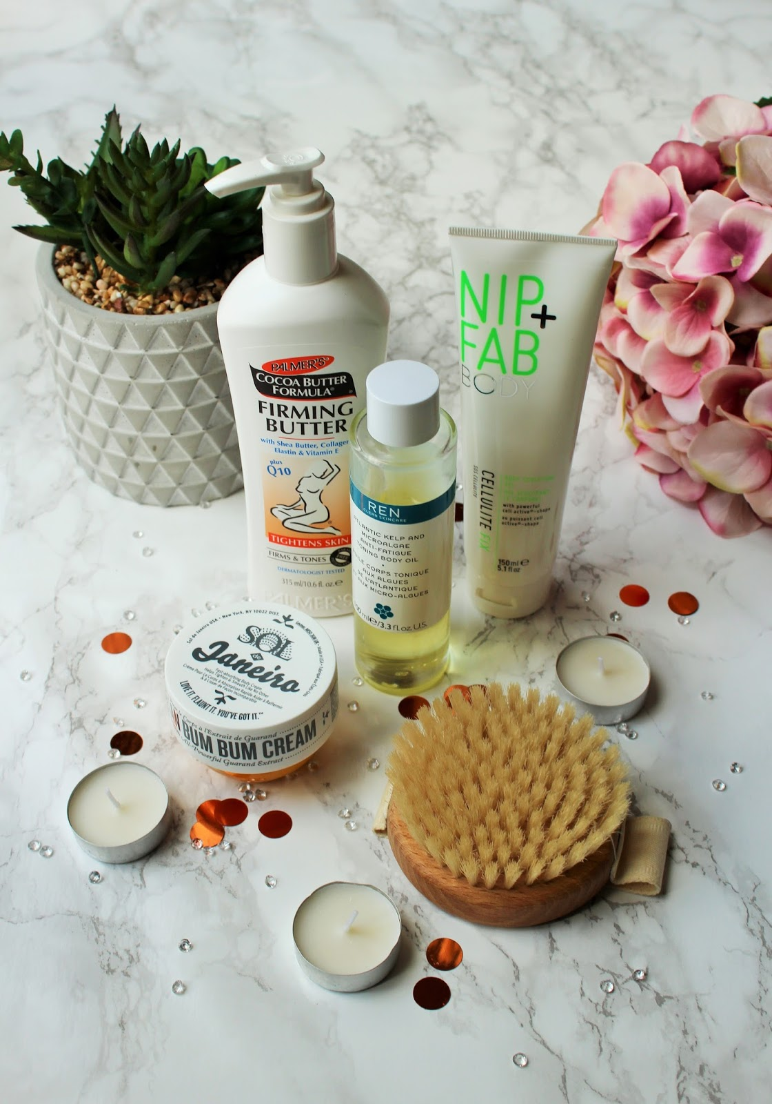 My Favourite Body Firming Products - 1