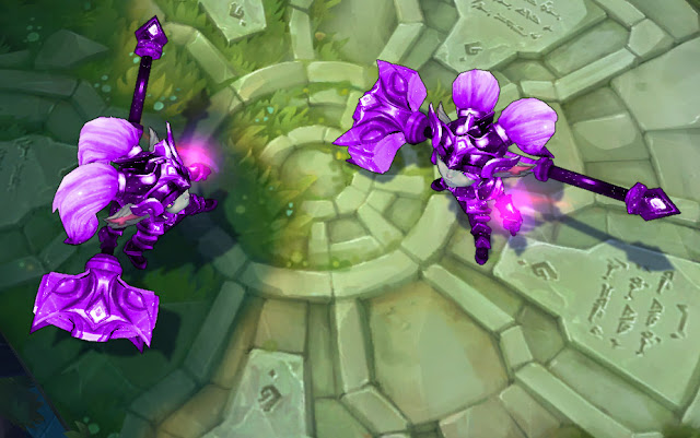 Mod Skin Poppy Battle Star Purple