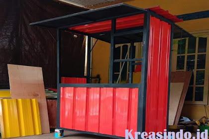 Jasa pembuatan Booth semi Kontainer di Tangerang dan Sekitarnya