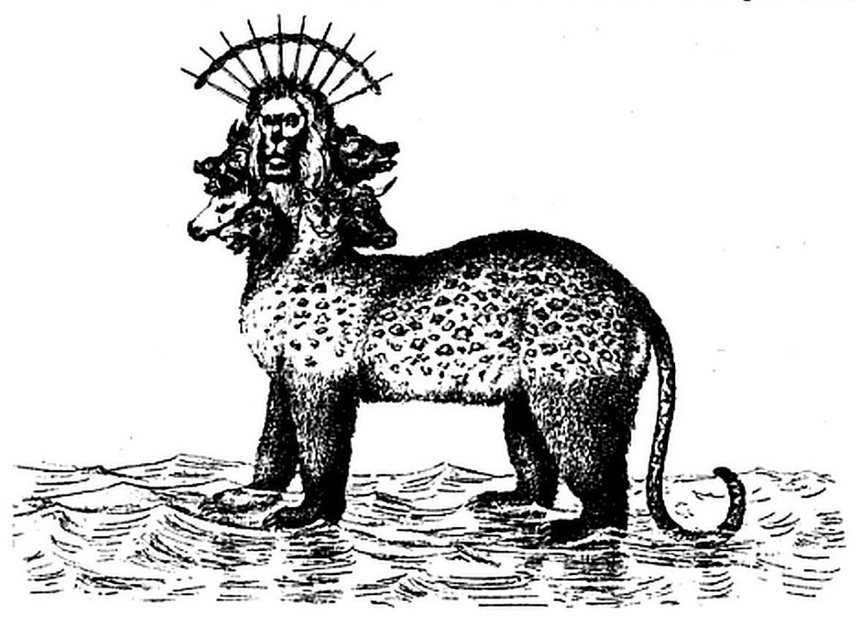 Revelations Mark Beast Clip Art