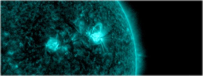 explosão solar - tempestade geomagnética
