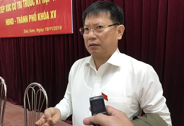 Ông Phạm Xuân Phương – Bí thư Huyện ủy Sóc Sơn