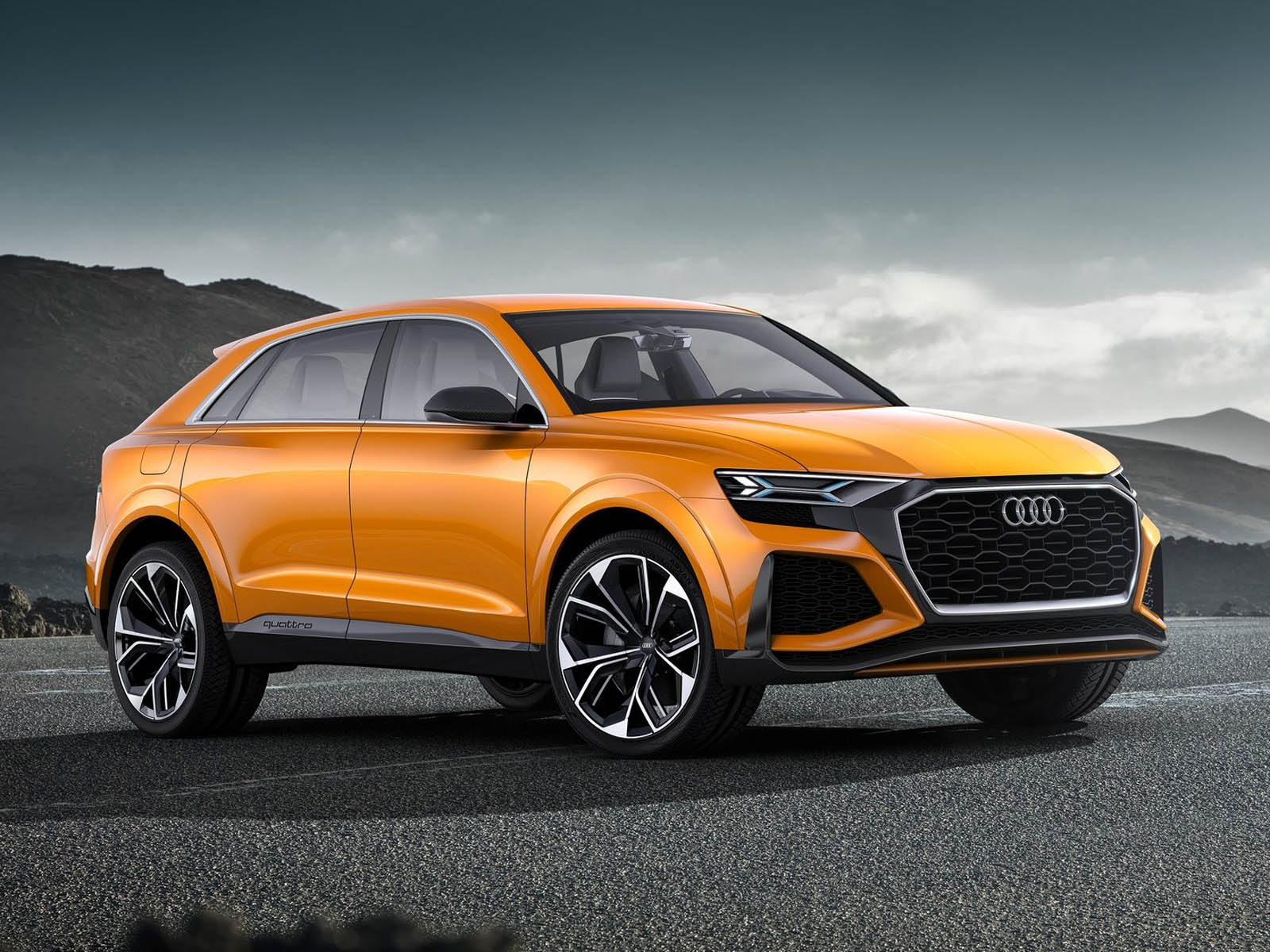 audi rs q8 coming as a teutonic version of the lambo urus. Black Bedroom Furniture Sets. Home Design Ideas