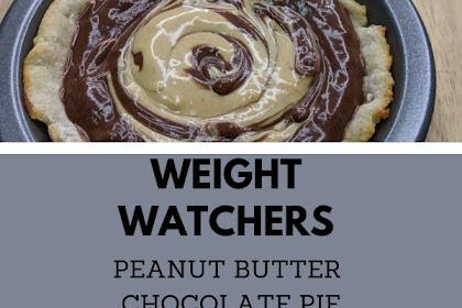 Weight Watchers Peanut Butter Chocolate Pie