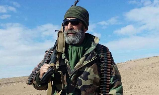 مقتل الضابط عصام زهر الدين في دير الزور