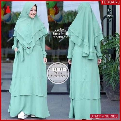 UTM114K77 Baju Kamala Muslim Dress Dewasa UTM114K77 072 | Terbaru BMGShop