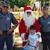 Polícia Militar realizou a entrega dos brinquedos da Campanha Natal Solidário