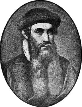 Johann Gutenberg Tokoh Modernisasi Alat Cetak