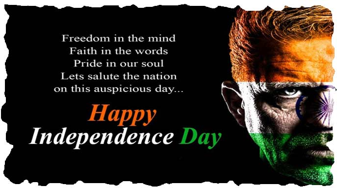 Indian independence image