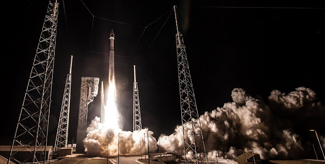 An Atlas V rocket carrying the SBIRS GEO Flight 4 mission for the U.S. Air Force lifts off from Space Launch Complex-41. Credit: ULA