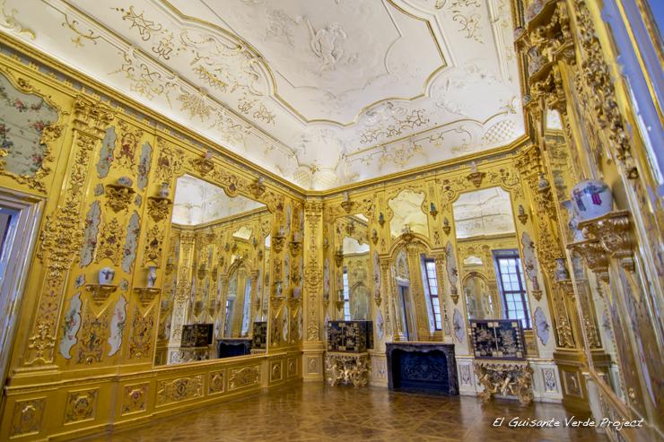 Sala Amarilla, Belvedere Inferior - Viena por El Guisante Verde Project