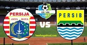 Resmi, Jadwal Baru Persija vs Persib Bandung Kamis 3 Mei 2018