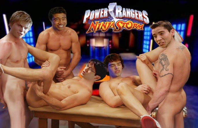 Are not power rangers ninja storm porn