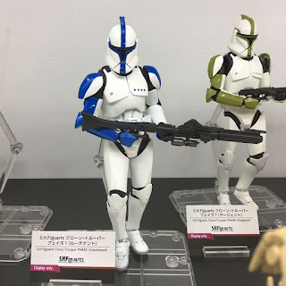 S.H.Figuarts Star Wars Ep.II Clone Trooper Phase 1 Lieutenant