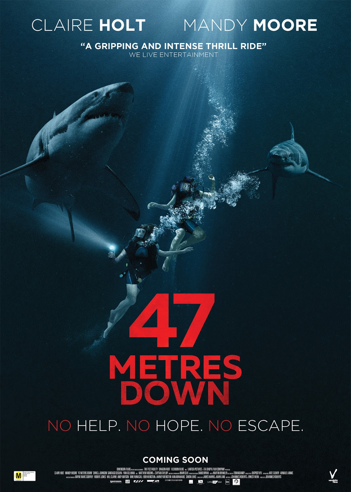 47 Meters Down [2017] [DVDR] [NTSC] [Latino]