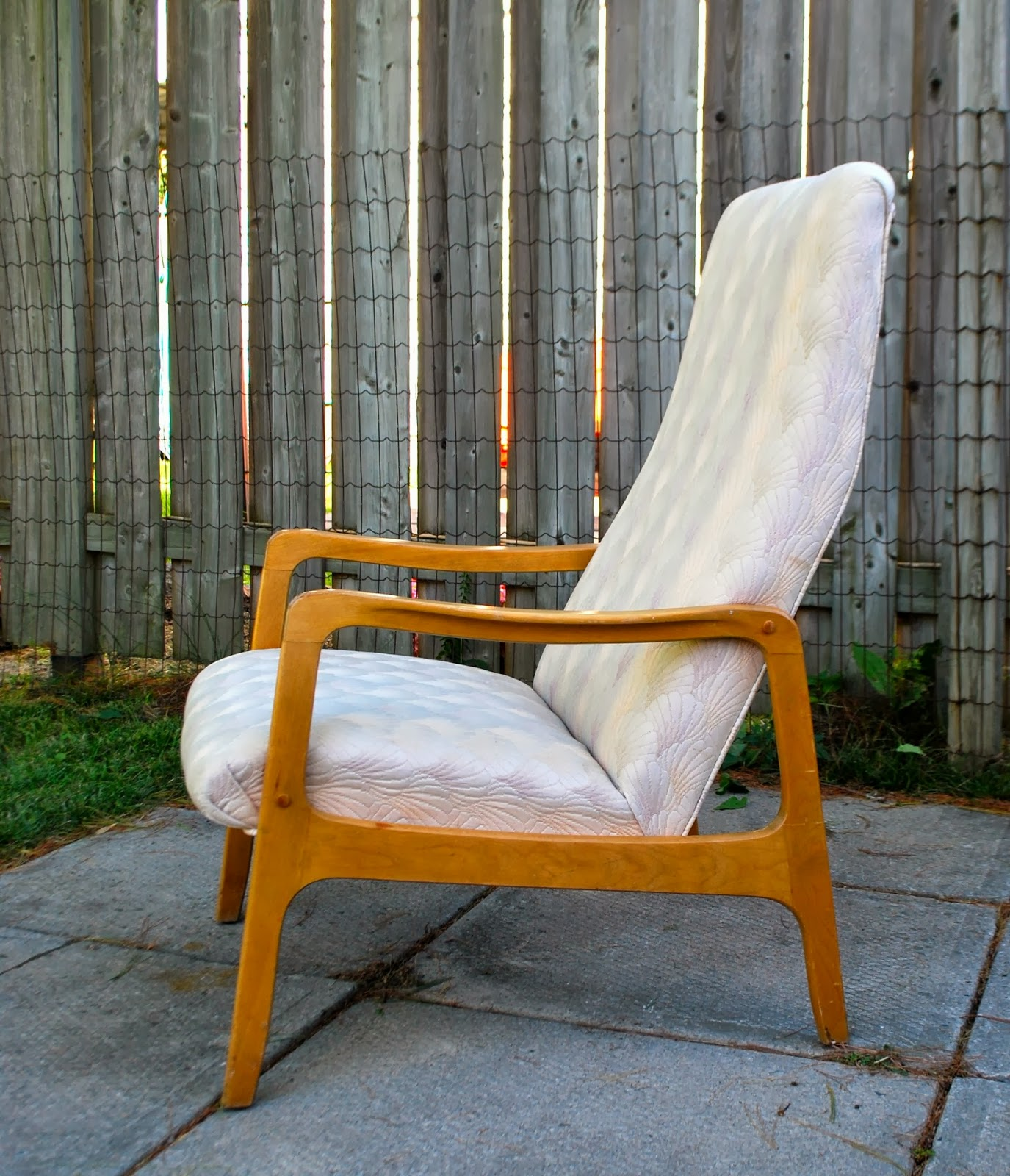 High Back Lounge Chair Tribute 20th Decor Mid Century High Back Lounge Chair