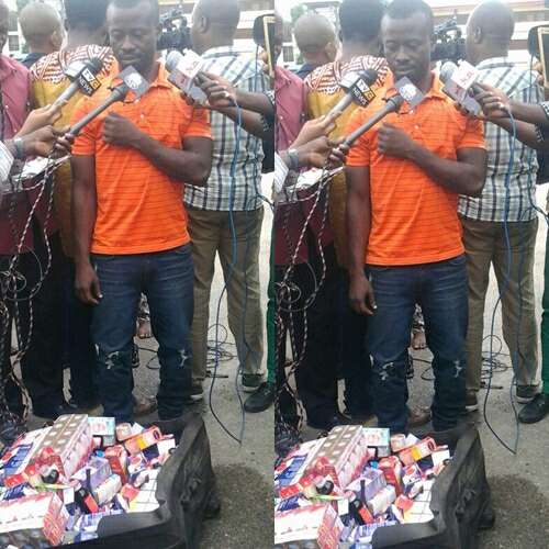 """Fake Doctor Nabbed In Lagos Says """"I Don't Know the Number of People I've Killed with My Drugs"""""""