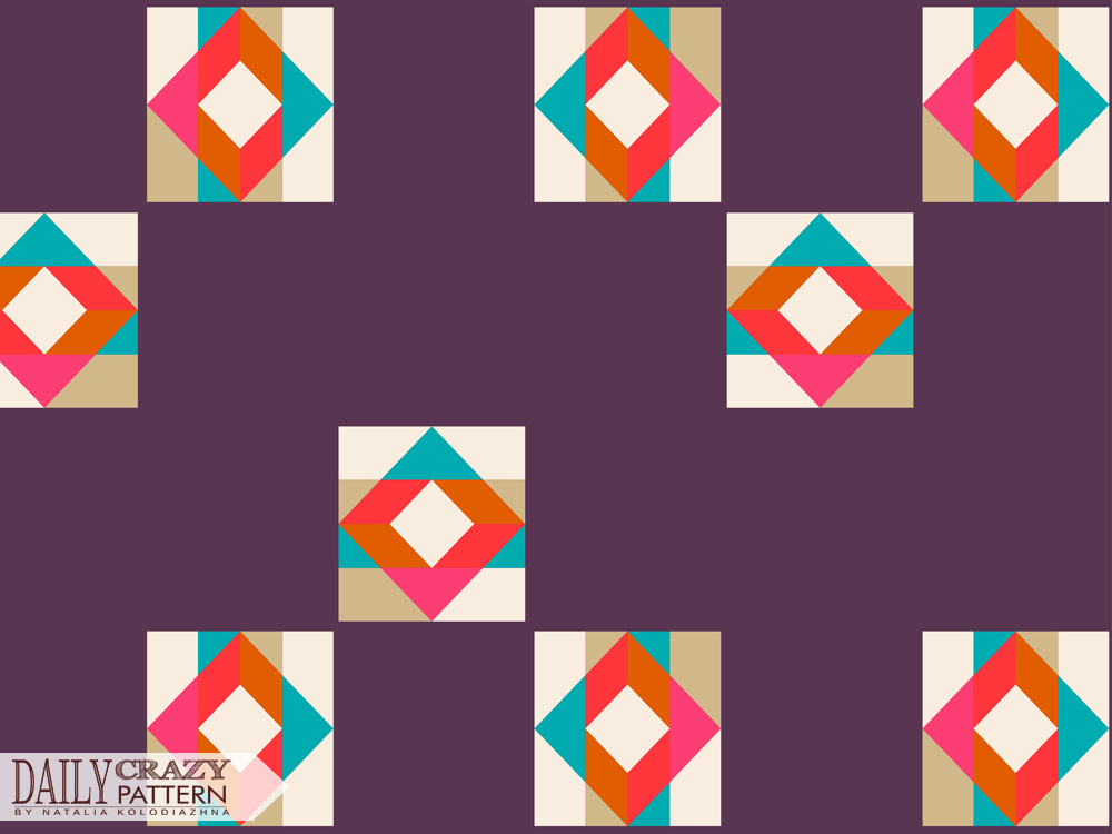 "Fancy geometric pattern for ""Daily Crazy Pattern"""