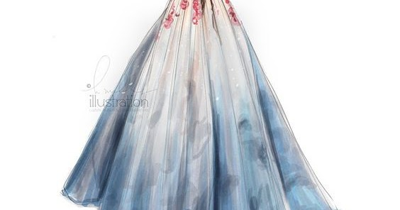 Enchanting Wedding Dress Sketch Ideas - Womens Dresses & Gowns ...