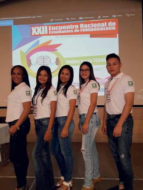 LA UNIVERSIDAD DE SUCRE HACE PRESENCIA EN EL XXIII ENCUENTRO NACIONAL DE ESTUDIANTES DE FONOAUDIOLOGÍA – 2017.
