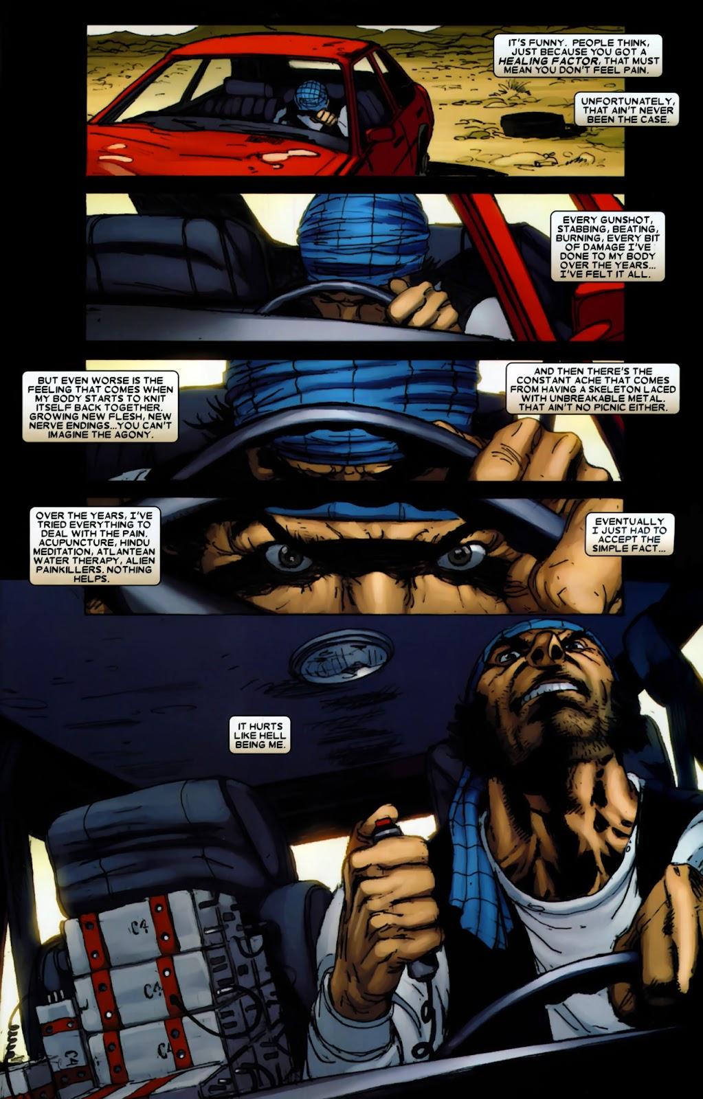 Read online Wolverine (2003) comic -  Issue #64 - 7