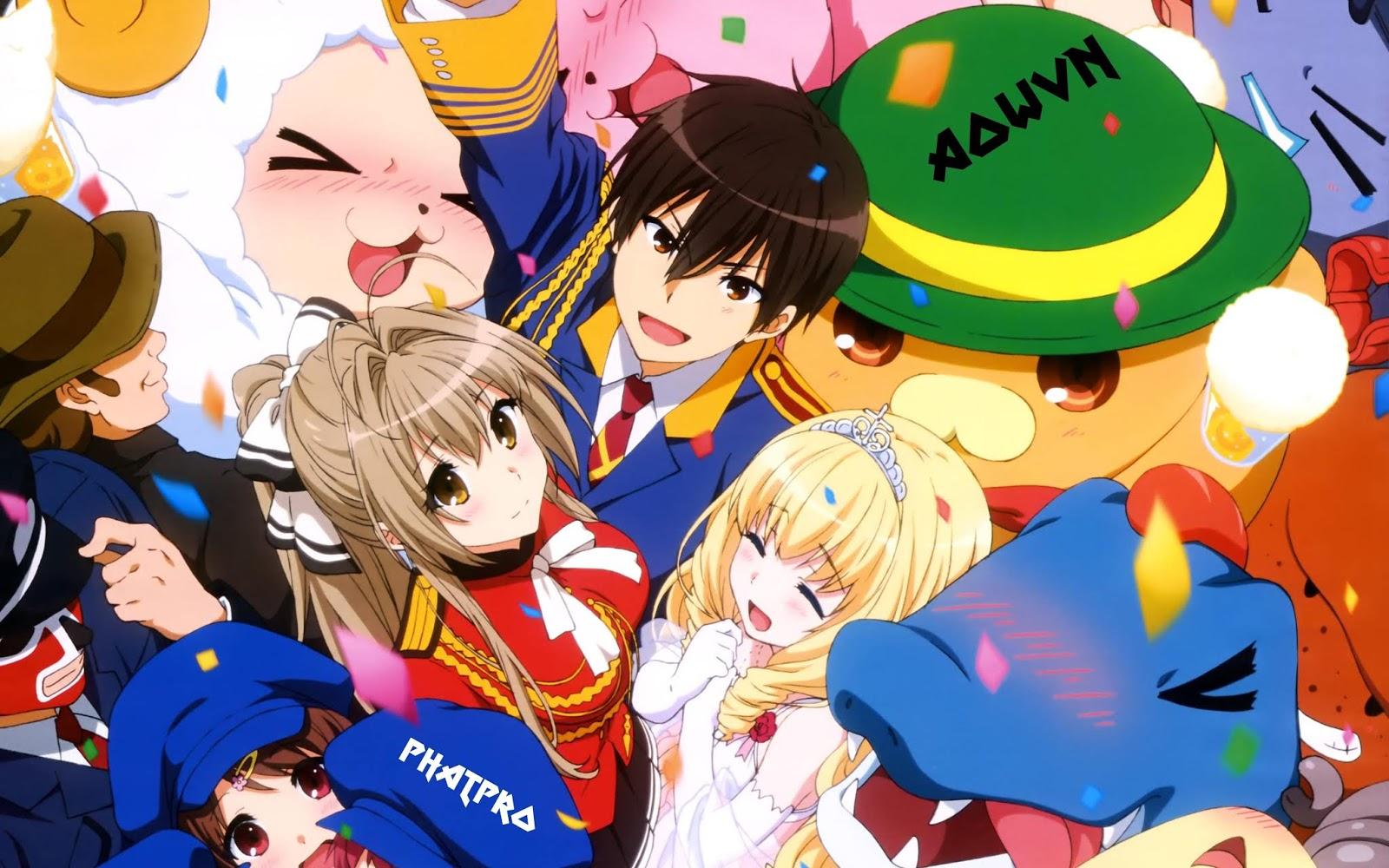 Amagi%2B %2BPhatpro%2B%25284%2529 min - [ Anime 3gp Mp4 ] Amagi Brilliant Park BD + Ova + SP | Vietsub - Cực Hài - Cực Moe