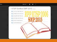 Download RPP KTSP 2006 Lengkap dengan SIlabus, Prota, Promes, KKM, KI dan KD Untuk SMP Tahun Pelajaran 2015-2016