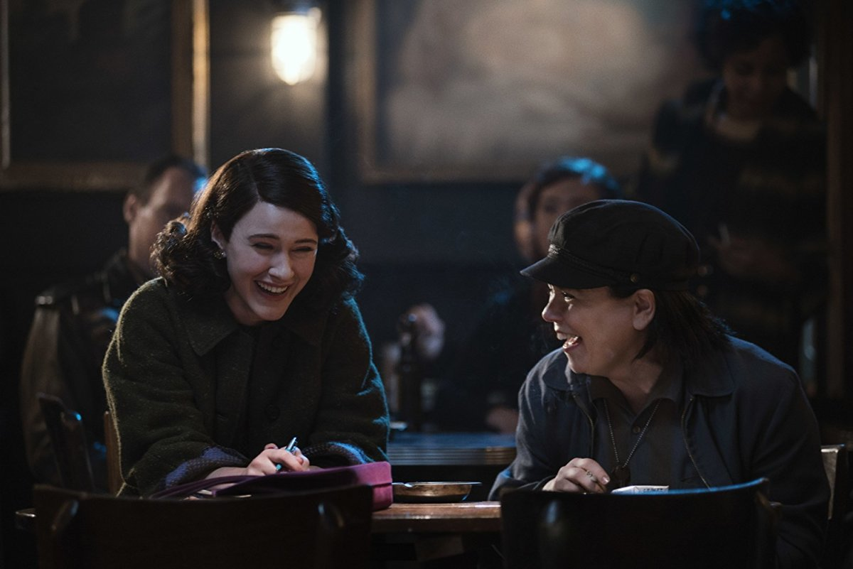 Miriam y Susie en 'The Marvelous Mrs. Maisel'