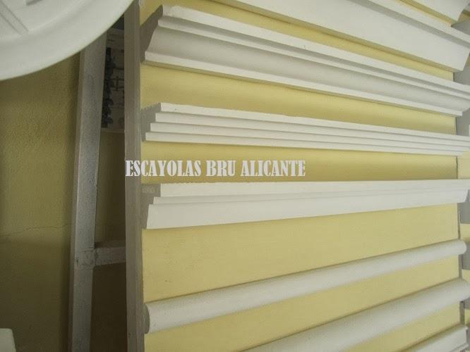 Escayolas bru alicante molduras - Escayola decorativa techo ...