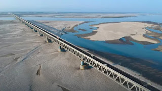 Bogibeel Bridge in Assam