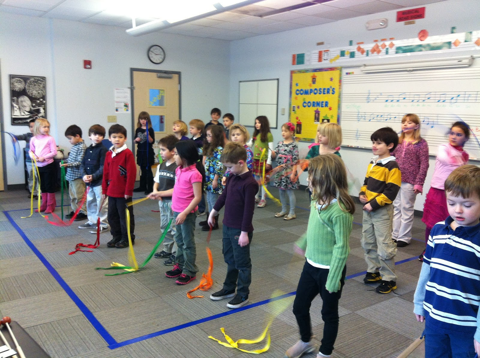 Mrs Hannah S First Grade Class Music Practice For Our Asian Assembly