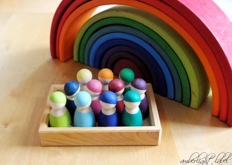 holzspielzeug regenbogenbande von grimm 39 s spiel und holz design amberlight label. Black Bedroom Furniture Sets. Home Design Ideas