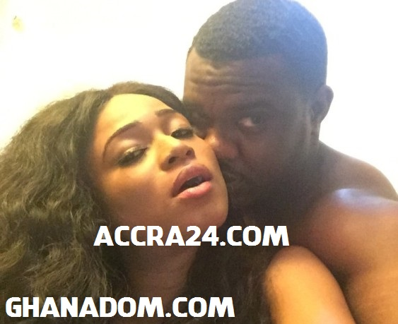 Actor John Dumelo and Actress Christabel Ekeh caught