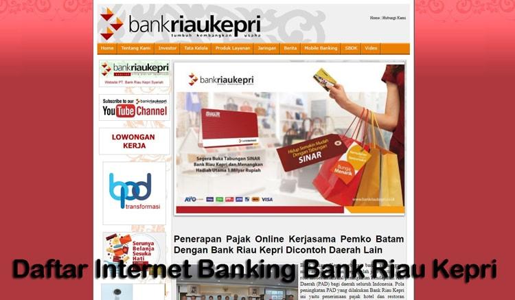 internet banking riau kepri