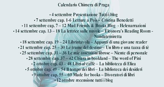 la chimera di praga fazi editore calendario helenarrazioni