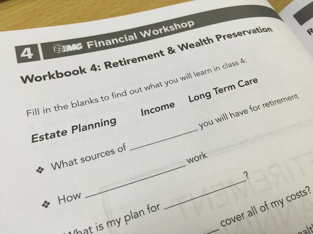 Workshop 4: Retirement Planning & Wealth Preservation