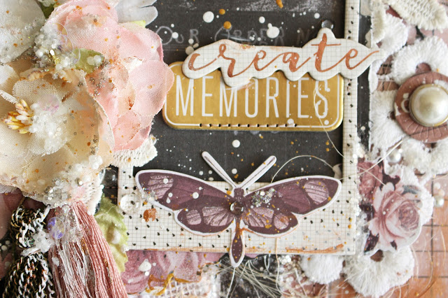 """Мемуарис - альбом из коллекции """"Amelia ROSE"""" от Prima Marketing"""