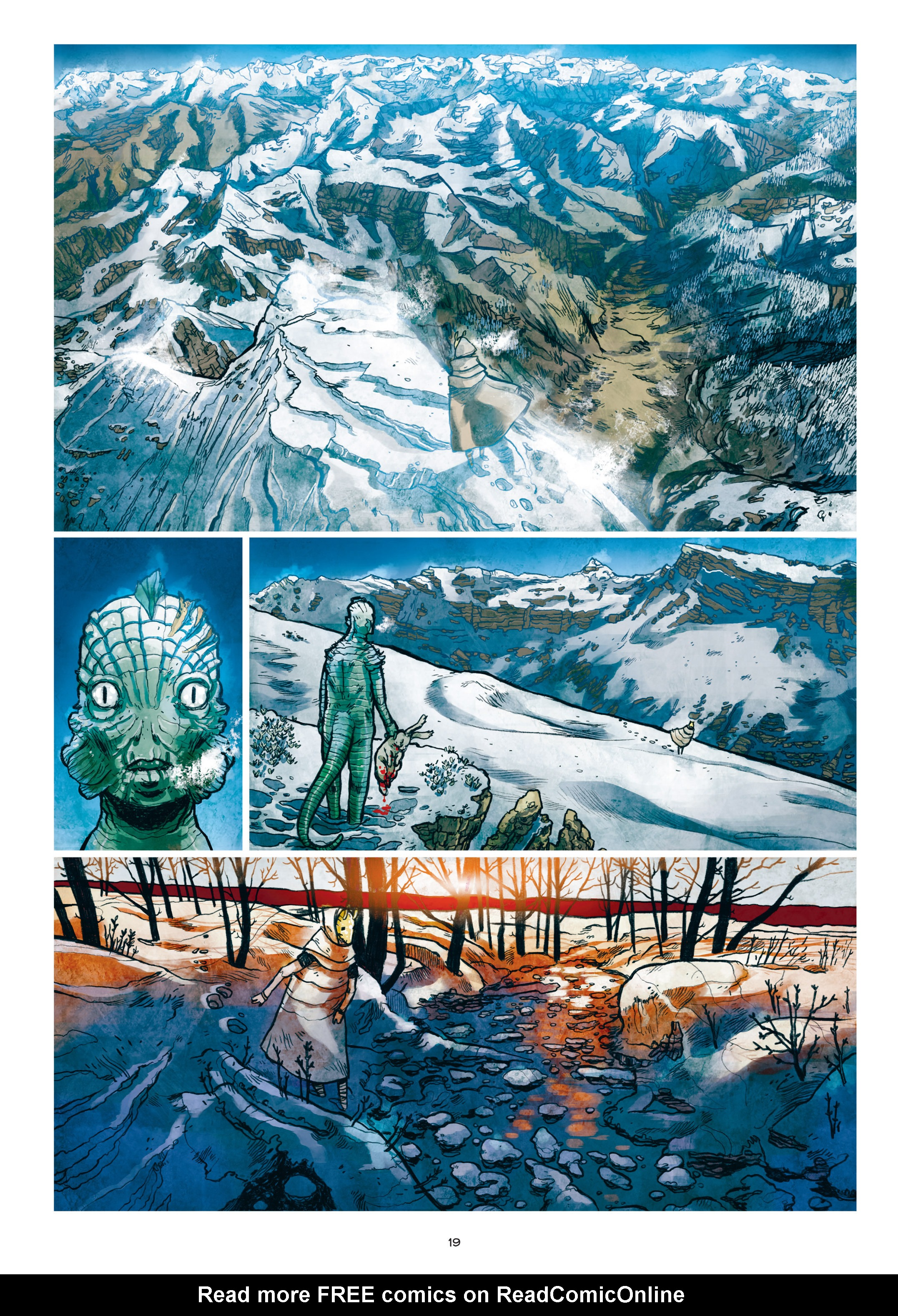 Read online Adrastée comic -  Issue #1 - 20