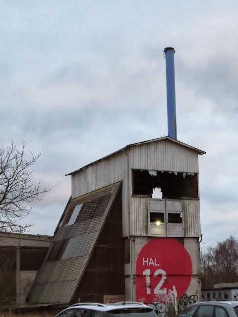 Abandoned building near Roskilde Denmark