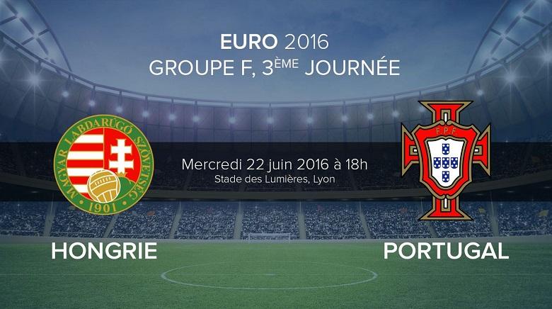 Euro 2016 : Pronostic ¨Hongrie - Portugal