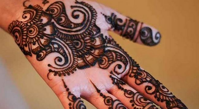 Simple Mehndi Step By Step : Simple mehndi designs step by beauty health & fashion